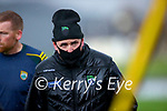 Kerry manager Fintan O'Connor during the Round 1 meeting of Kerry and Meath in the Joe McDonagh Cup at Austin Stack Park in Tralee on Sunday.