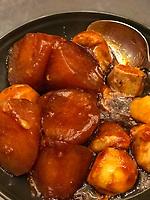 Nanjing, Jiangsu, China.  Turnips.