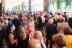 The crowd at the Holocaust Museum Houston's 2010 Lyndon Baines Johnson Moral Courage Award Dinner at the Hilton Americas Houston Monday May 03,2010.  (Dave Rossman Photo)