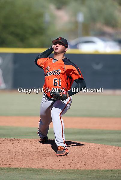 Jorge Labrador - 2017 AIL Giants (Bill Mitchell)