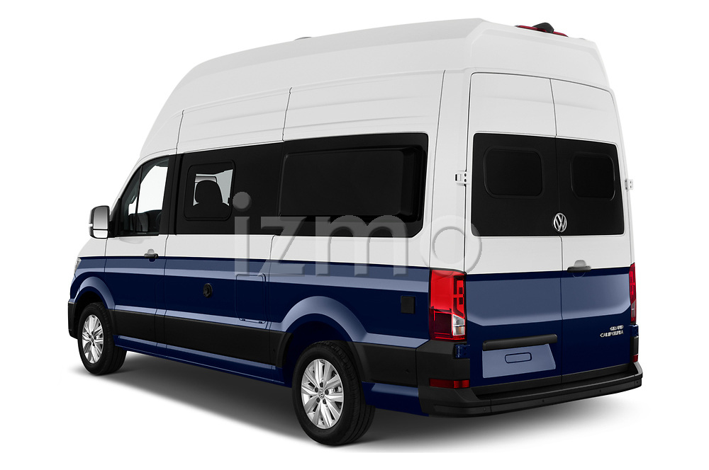 Car pictures of rear three quarter view of 2020 Volkswagen Grand-California 600 4 Door Refrigerated Van Angular Rear