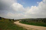 Israel, Shephelah, a road in Lachish