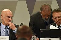 BRASÍLIA, DF, 21.02.2017 – SABATINA-SENADO – O ministro da justiça licenciado e indicado ao STF, Alexandre de Moraes, chegando em sua sabatina na CCJ do Senado, na manhã desta terça-feira, 21. (Foto: Ricardo Botelho/Brazil Photo Press)