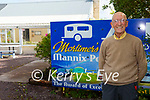 Mortimer Moriarty owner/prop at Mannis Point Caraven & Camping at Cahersiveen features in the top 10% worldwide on Trip Advisor.