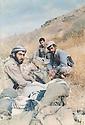 Iraq 1989 .Rest of peshmergas in Germian .Irak 1989 .Peshmergas au repos dans le Germian