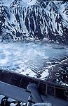Alaska, Harding Ice Field, Kenai Fjord National Park, Kenai mountains.Kenai Peninsula, North America, U.S.A; aerial, largest ice field in USA,.