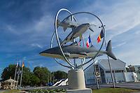 France, Pas-de-Calais (62), Côte d'Opale ,Boulogne-sur-Mer, Nausicaa, Centre National de la Mer, aquarium géant //  France, Pas de Calais, Cote d'Opale (Opal Coast), Boulogne sur Mer,  Nausicaa, National Center for Sea, giant aquarium