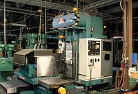 Matsuura Mold Master milling machine on a shop floor, horz. Bloomfield MA USA.