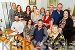 Elaine O'Hara from Causeway celebrating her 50th birthday in Bella Bia on Friday night.<br /> Seated l to r: Leonard Foley, Elaine and John O'Hara and Lisa Hanley.<br /> Back l to r: Colm Sheehy, Norma O'Connor, Siobhan and Lauren Foley, Sandra O'Sullivan, Gina O'Donoghue, TJ O'Donoghue, Helen O'Sullivan, Conor and Diana O'Hara.