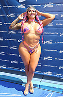 20 August 2021 - Las Vegas, NV - Katie Forbes.  Rob Van Dam and Katie Forbes Host Summer Swim Wrestling Weekend Pool Party at  Sapphire Topless Pool and Day Club. Photo Credit: MJT/AdMedia