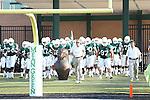 DENTON, TX - AUGUST 31: North Texas Mean Green head coach Dan McCarney of the North Texas Mean Green Football vs Idaho Vandals at Apogee Stadium in Denton on August 31, 2013 in Denton, Texas. Photo by Rick Yeatts