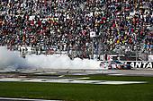2017 NASCAR XFINITY Series - Rinnai 250<br /> Atlanta Motor Speedway, Hampton, GA USA<br /> Saturday 4 March 2017<br /> Kyle Busch, NOS Energy Drink Toyota Camry celebrates<br /> World Copyright: Barry Cantrell/LAT Images<br /> ref: Digital Image 17ATLbc2451