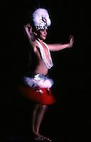 Tahiti Dancer, Papeete Polynesia, very high res image