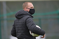 Zulte Waregem's goalkeeper coach Giovanni Vandenbussche pictured during a female soccer game between SV Zulte - Waregem and White Star Woluwe on the 9th matchday of the 2020 - 2021 season of Belgian Scooore Women s SuperLeague , saturday 12 th of December 2020  in Waregem , Belgium . PHOTO SPORTPIX.BE | SPP | DIRK VUYLSTEKE