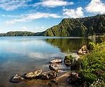 A lake near Rotorua, New Zealand