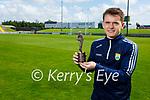 Killian Falvey from Aunascaul who received the Munster GAA U20 Footballer of the Year Award 2020