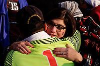 Chester, PA - Sunday December 10, 2017: Nico Corti, fans. Stanford University defeated Indiana University 1-0 in double overtime during the NCAA 2017 Men's College Cup championship match at Talen Energy Stadium.