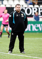 Photo: Richard Lane/Richard Lane Photography. Stade Francais v London Wasps. European Rugby Champions Cup Play-Off. 24/05/2014. Wasps' Director of Rugby, Dai Young.