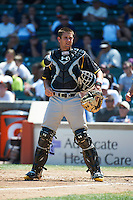 Catcher Nick Ciuffo of Charleston, South Carolina participates in the Under Armour All-American Game powered by Baseball Factory at Wrigley Field on August 17, 2012 in Chicago, Illinois.  (Mike Janes/Four Seam Images)