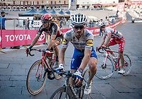 2 former winners finishing together: Philippe Gilbert (BEL/Lotto-Soudal) & Julian Alaphilippe (FRA/Deceuninck-QuickStep)<br /> <br /> 14th Strade Bianche 2020<br /> Siena > Siena: 184km (ITALY)<br /> <br /> delayed 2020 (summer!) edition because of the Covid19 pandemic > 1st post-Covid19 World Tour race after all races worldwide were cancelled in march 2020 by the UCI