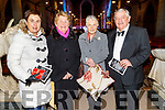Mary Boyle, Sheila Horgan, Pat Boyle and Sean Lyons (MC) attending the Kerry Choral Union's O'Holy Night concert in St John's Church on Sunday.