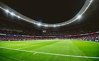 29th August 2021; Estadio Wanda Metropolitano, Madrid, Spain; La Liga Football, Atletico de Madrid versus Villarreal Club de Futbol; Wanda Metropolitano Stadium before the game starts
