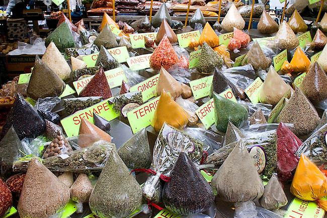 Spice, Porto Market, Rome, Italy