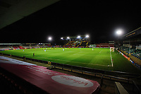 A general view of LNER Stadium, home of Lincoln City<br /> <br /> Photographer Chris Vaughan/CameraSport<br /> <br /> EFL Papa John's Trophy - Northern Section - Group E - Lincoln City v Manchester City U21 - Tuesday 17th November 2020 - LNER Stadium - Lincoln<br />  <br /> World Copyright © 2020 CameraSport. All rights reserved. 43 Linden Ave. Countesthorpe. Leicester. England. LE8 5PG - Tel: +44 (0) 116 277 4147 - admin@camerasport.com - www.camerasport.com