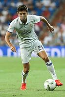 Real Madrid's Enzo Zidane during the XXXVII Bernabeu trophy between Real Madrid and Stade de Reims at the Santiago Bernabeu Stadium. August 15, 2016. (ALTERPHOTOS/Rodrigo Jimenez) /NORTEPHOTO
