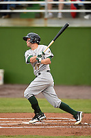 Lynchburg Hillcats third baseman Kevin Ahrens (17) during a game against the Potomac Nationals on April 26, 2014 at Pfitzner Stadium in Woodbridge, Virginia.  Potomac defeated Lynchburg 6-2.  (Mike Janes/Four Seam Images)