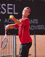 08-08-13, Netherlands, Rotterdam,  TV Victoria, Tennis, NJK 2013, National Junior Tennis Championships 2013, Bernard Wezeman<br /> <br /> <br /> Photo: Henk Koster