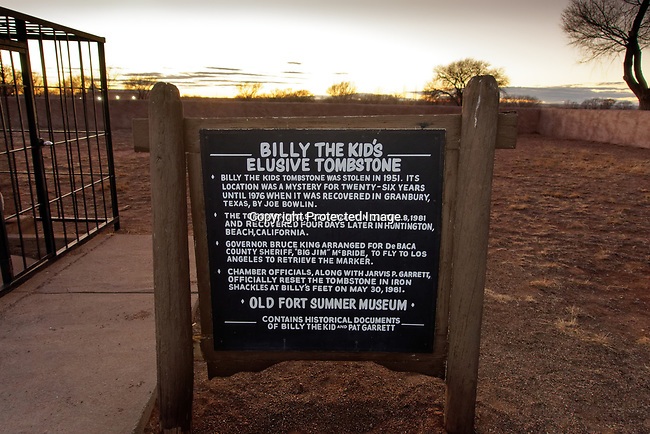 Grave of Billy the Kid, New Mexico, USA