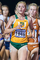 Jana Soethout of San Francisco competes in 10000 meter semifinal during West Preliminary Track & Field Championships at John McDonnell Field, Thursday, May 29, 2014 in Fayetteville, Ark. (Mo Khursheed/TFV Media via AP Images)