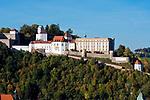 Deutschland, Niederbayern, Passau: Veste Oberhaus | Germany, Lower Bavaria, Passau with fort Oberhaus