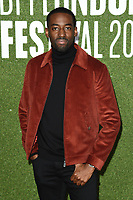 "Ashley Thomas<br /> arriving for the London Film Festival screening of ""Been so Long"" at the Cineworld Leicester Square, London<br /> <br /> ©Ash Knotek  D3439  12/10/2018"