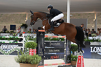 10th September 2021; Circo Massimo Stadium Rome, Italy; Longines Global Equestrian Champions Tour:  Emily Moffit