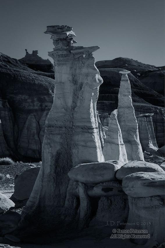 Hoodoos, Bisti Badlands, New Mexico