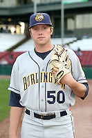 September 10, 2009: Sam Runion of the Burlington Bees. The Bees are the Midwest League affiliate for the Kansas City Royals. Photo by: Chris Proctor/Four Seam Images