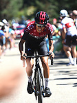 Ivan Ramiro Sosa Cuervo (COL) Team Ineos attacks towards the end of Stage 5 of the Vuelta a Burgos 2020, running 158km from the Covarrubias to Lagunas de Neila, Spain. 1st August 2020. <br /> Picture: Colin Flockton | Cyclefile<br /> <br /> All photos usage must carry mandatory copyright credit (© Cyclefile | Colin Flockton)