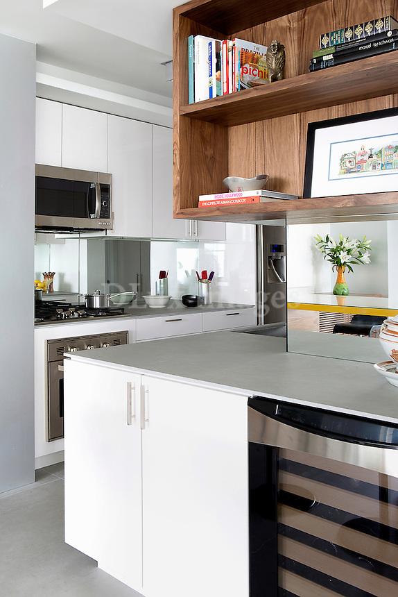 Modern kitchen cupboards