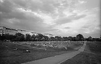 berlino, quartiere kreuzberg. goerlitzer park (Görlitzer Park) --- berlin, kreuzberg district, goerlitzer park (Görlitzer Park)