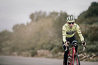 Bauke Mollema (NED/Trek-Segafredo)<br /> <br /> Team Trek-Segafredo <br /> training camp<br /> Mallorca, january 2019<br /> <br /> ©kramon