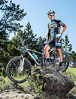 Mountain Biker Sina Solouksaran