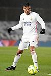 Real Madrid's Carlos Henrique Casemiro during La Liga match. February 9, 2021. (ALTERPHOTOS/Acero)
