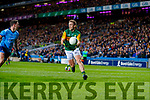 Stephen O'Brien, Kerry in action against Philly McMahon, Dublin during the Allianz Football League Division 1 Round 1 match between Dublin and Kerry at Croke Park on Saturday.