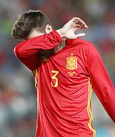 Spain's Gerard Pique during international friendly match. June 7,2017.(ALTERPHOTOS/Acero) (NortePhoto.com) (NortePhoto.com)