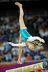 London 2012. Womens Individual All-Around  Finals 2.8.12  North Greenwich Arena .Domonique Pegg  Canada