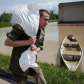 Flooding waters of Vistula by Piotr Malecki