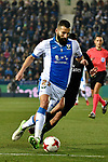 Leganes Dimitrios Siovas vs Real Madrid during Copa del Rey  match. A quarter of final go. 20180118.