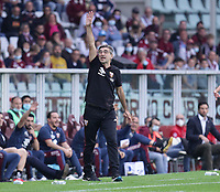 TORINO ITALY- October 2 <br /> Stadio Olimpico Grande Torino<br /> Ivan Juric Fc torino Trainer<br /> during the Serie A match between Fc  Torino and Juventus Fc at Stadio Olimpico on October 2, 2021 in Torino, Italy.